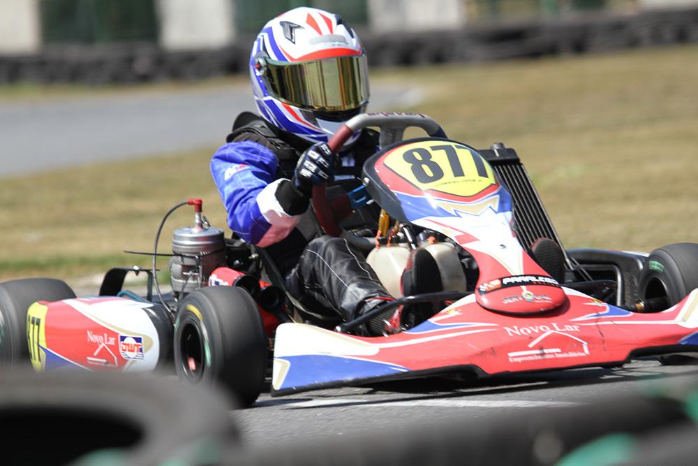 Automobilismo: Surge novo talento no kart, Gabriel Diniz